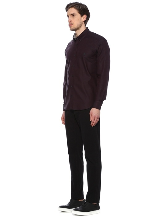 Siyah Comfort Fit Gömlek