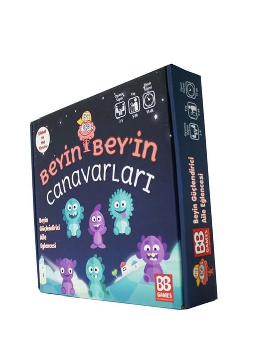 Beyin Beyin Canavarları Unisex Çocuk Oyun Seti