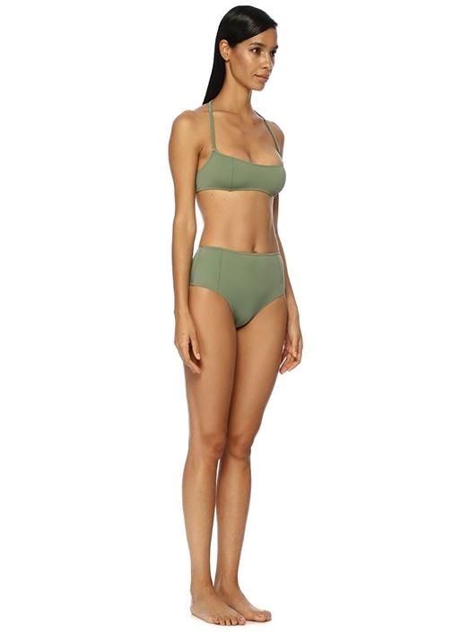 The Jessica Haki Yüksek Bel Bikini Altı