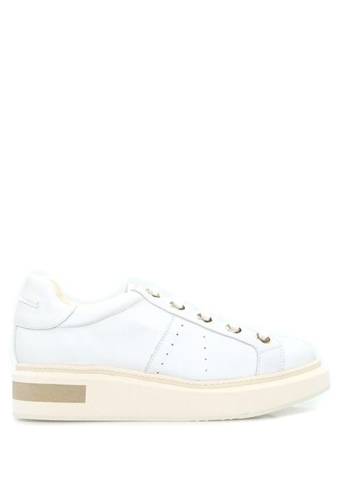 Paloma Barcelo Beyaz KADIN  Lexington Cervo Beyaz Deri Kadın Sneaker 420644 Beymen