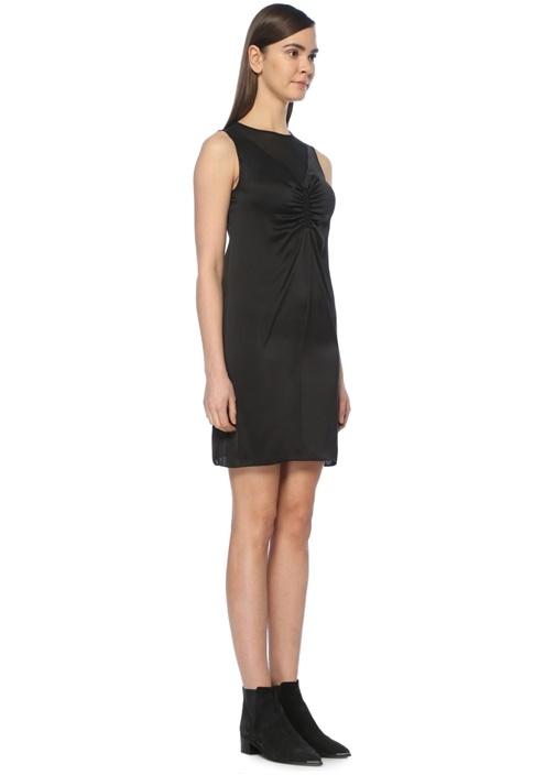 Nuri Siyah Mini Elbise