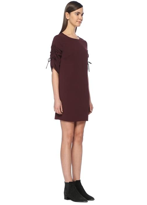 Evie Bordo Mini Elbise