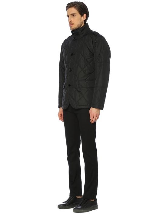 Cadell Siyah Kapitoneli Dış Ceket