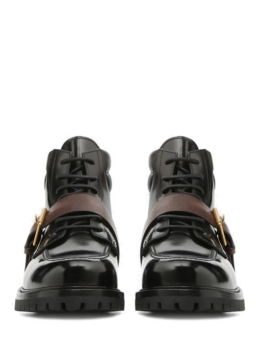 Valentino Garavani Kemer Detaylı Erkek Deri Bot