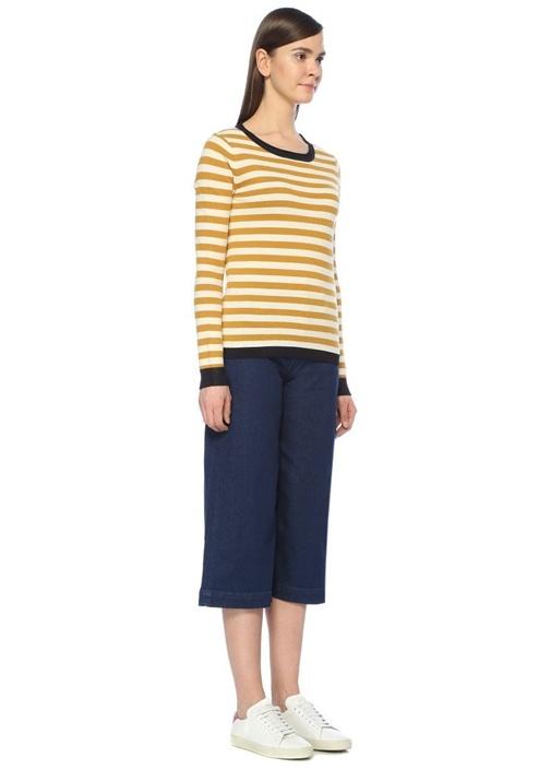 Sailor Wide Leg Jean Pantolon