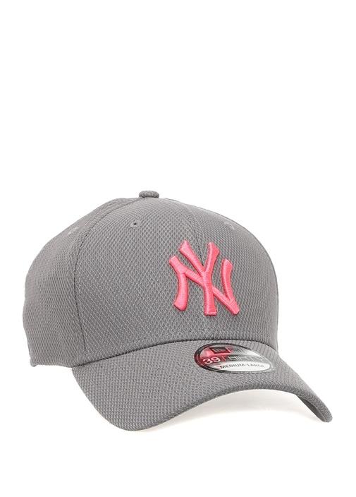 New York Yankees Gri Nakışlı Erkek Şapka
