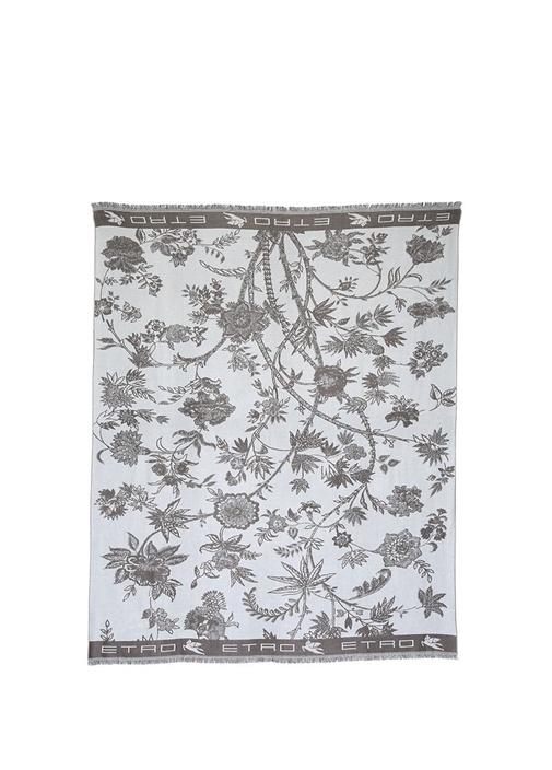 Çiçek Desenli Örtü 140x180