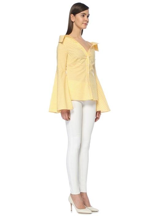 Persephone Sarı Bluz