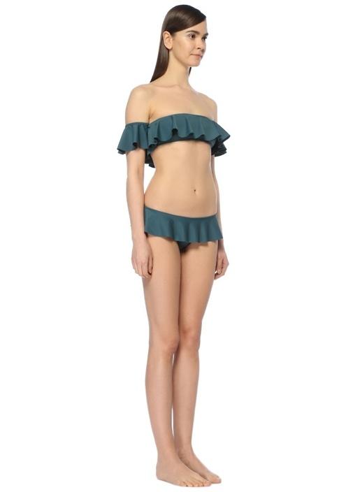 Sirolo Yeşil Volanlı Bikini Altı