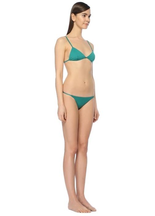 Elba Yeşil Üçgen Bikini Üstü