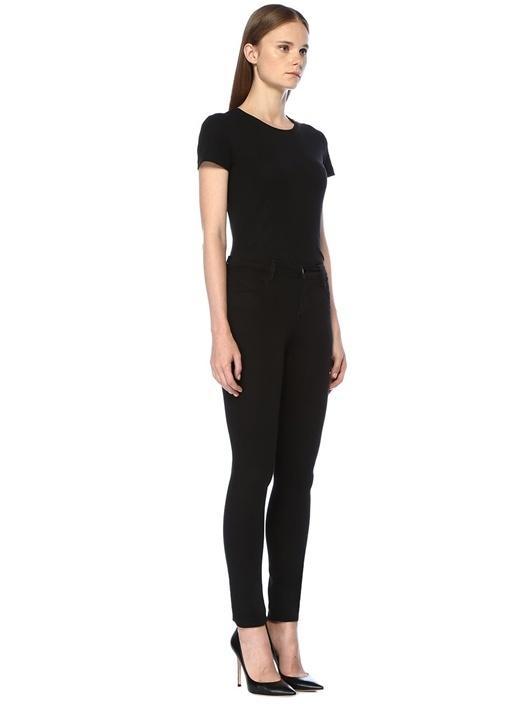Maria Siyah Yüksek Bel Skinny Jean Pantolon