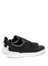 Siyah Örgü Dokulu Erkek Sneaker