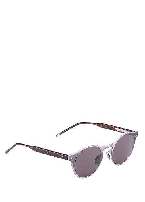 Yuvarlak Formlu Aynalı Camlı Erkek Güneş Gözlüğü