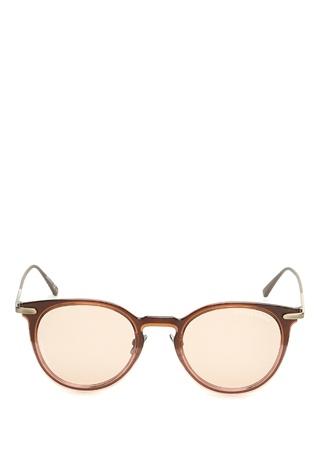 Bottega Veneta Kadın Gri Kahverengi Desen Detaylı Gözlük Ürün Resmi