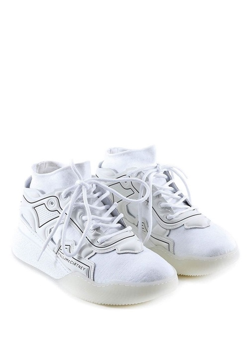 Loop Beyaz Logolu Bantlı Erkek Sneaker