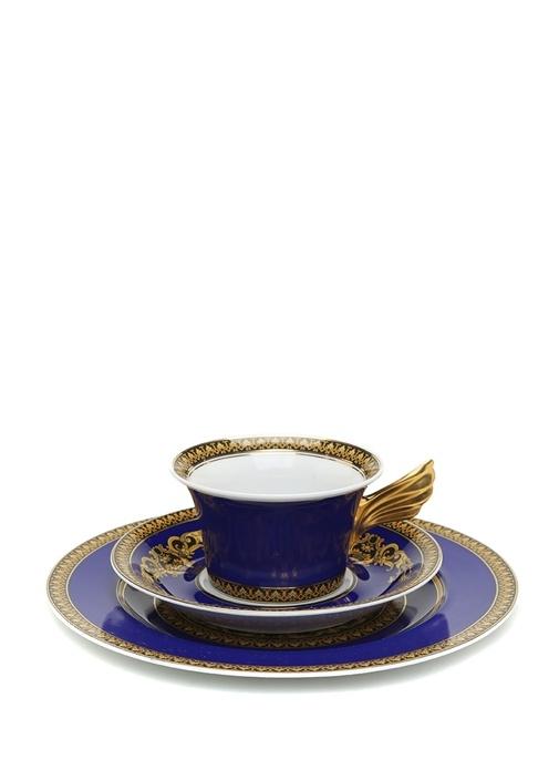 Medusa Blue 25 Yıl Koleksiyonu 3lü Porselen Set