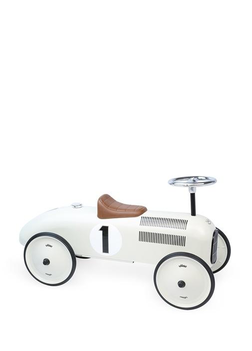 Vintage Krem Oyuncak Araba