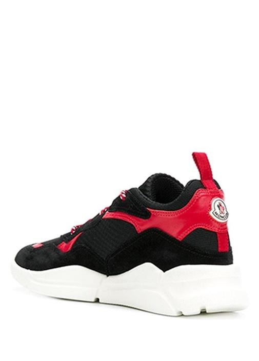 Calum Siyah Garnili Erkek Deri Sneaker