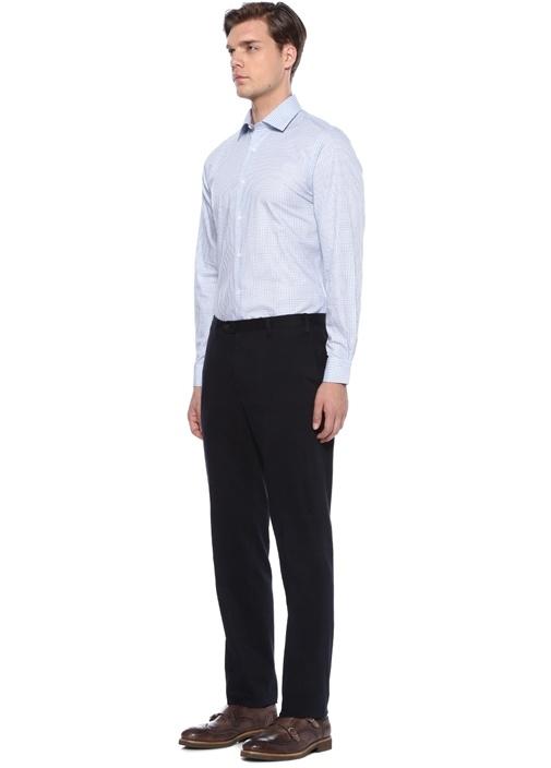 Drop 7 Lacivert Kanvas Pantolon