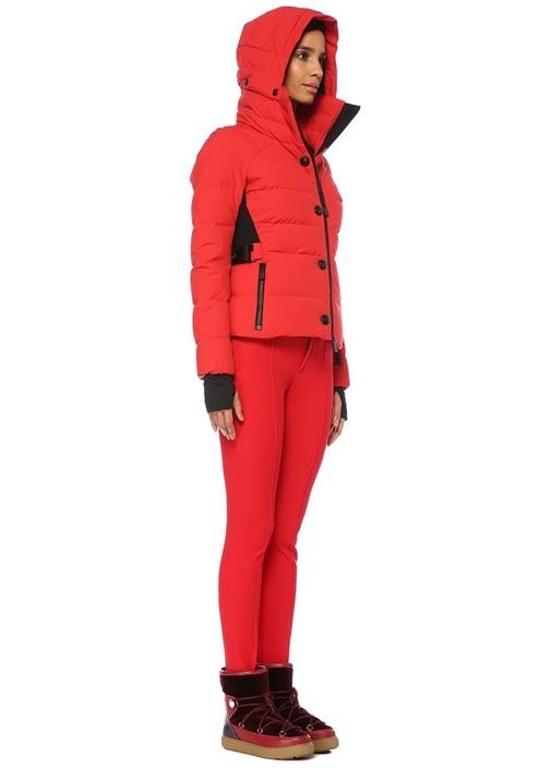 Grenoble Kırmızı Paça Detaylı Streç Pantolon