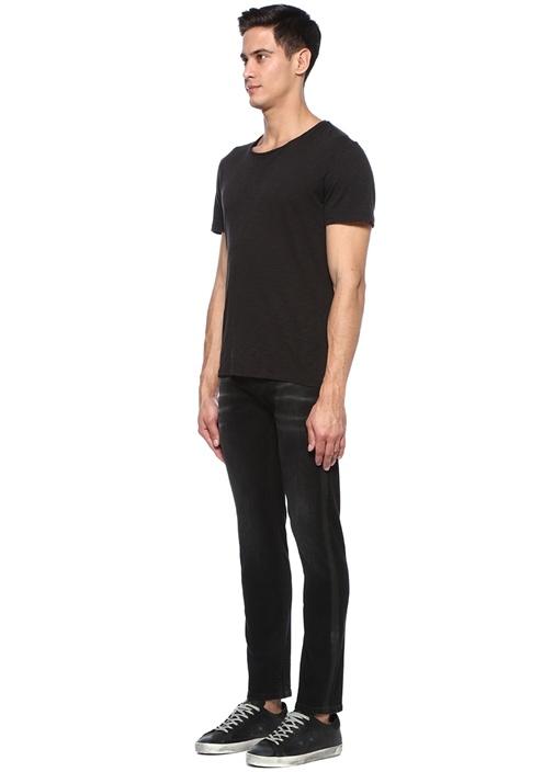 Ronnie Skinny Siyah Fit Şeritli Jean Pantolon