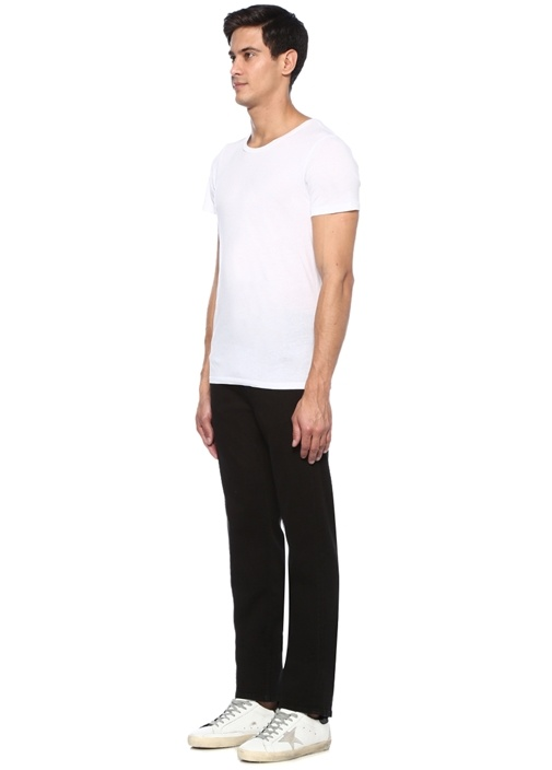 Standard Regular Fit Siyah Jean Pantolon