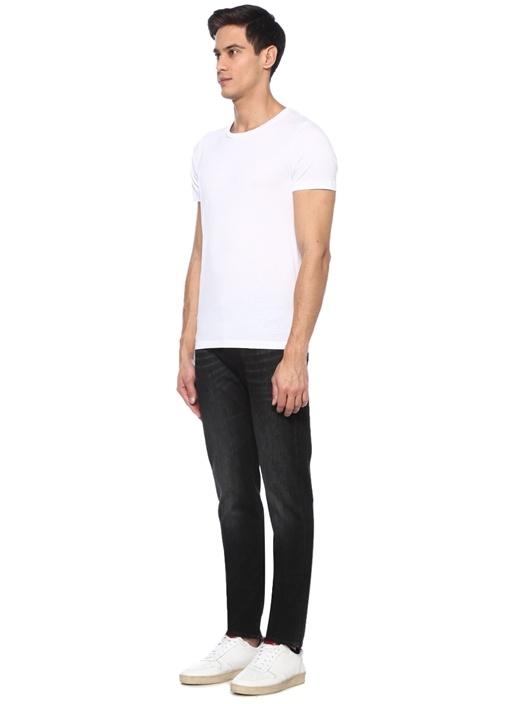 Kayden Slim Straight Fit Siyah Jean Pantolon