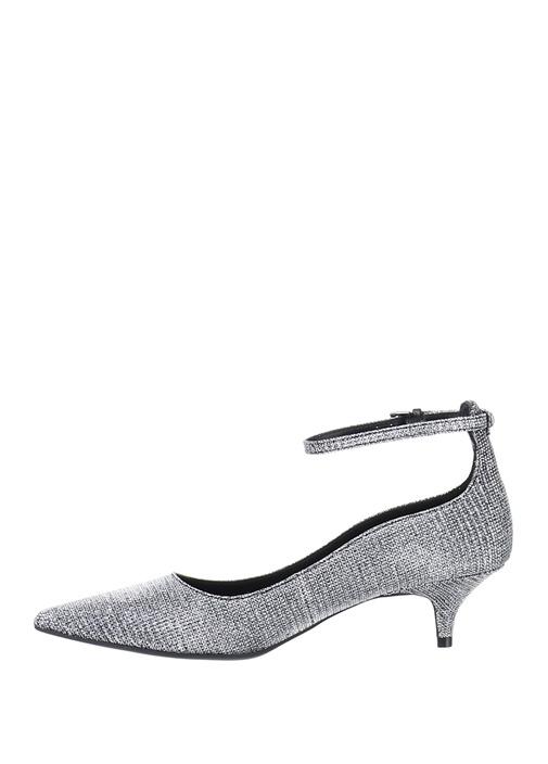 Silver Taşlı Kadın Sandalet