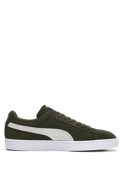 Suede Classic Yeşil Erkek Süet Sneaker