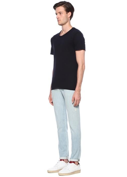 Jacksonville Lacivert Basic T-shirt