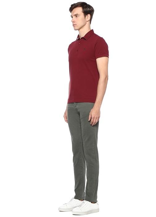 Haki Poşet Mendil Detaylı Pantolon