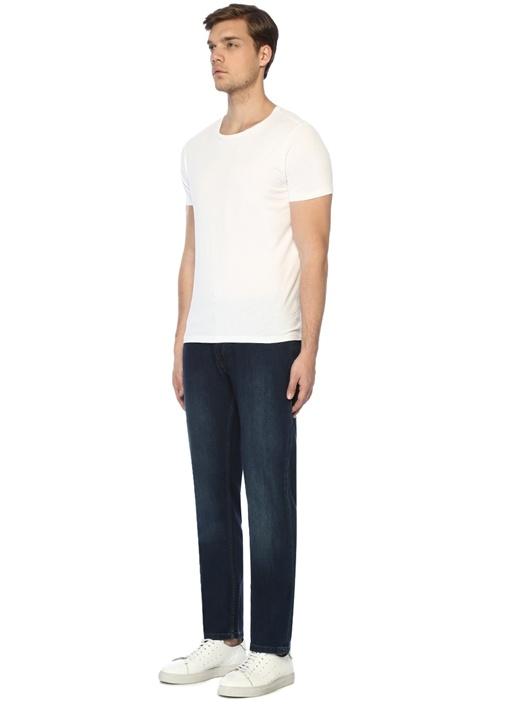 Regular Fit Lacivert Normal Bel Jean Pantolon