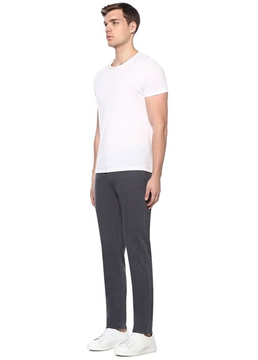 Antrasit Normal Bel Boru Paça Spor Pantolon