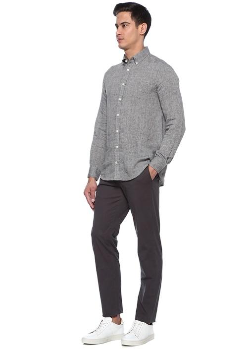 Drop 8 Antrasit Normal Bel Chino Pantolon