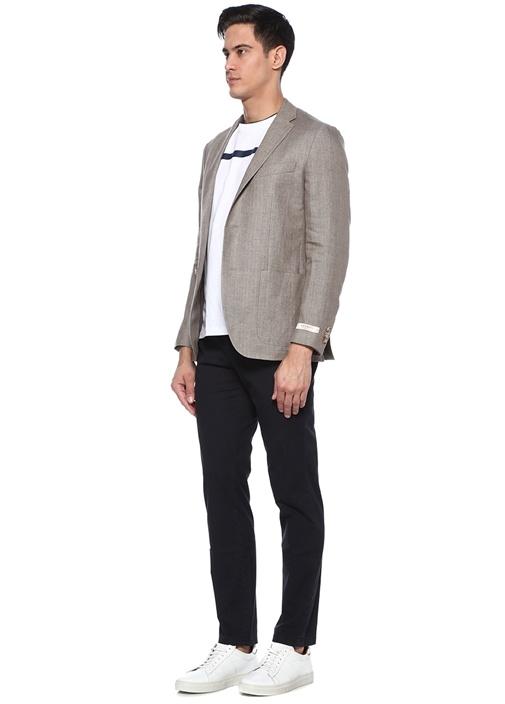 Drop 8 Lacivert Normal Bel Chino Pantolon