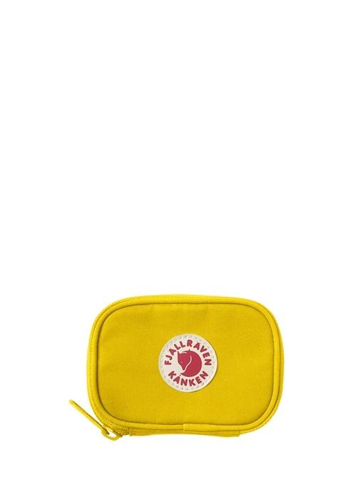 Sarı Logolu Unisex Çocuk Cüzdan
