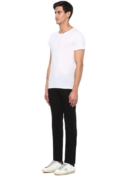 Slim Fit Kinetic Siyah Normal Bel Jean Pantolon