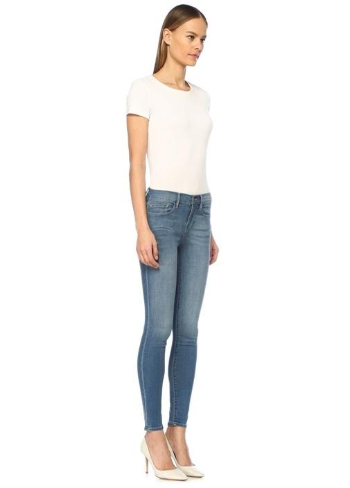 Jeanne Normal Bel Skinny Jean Pantolon