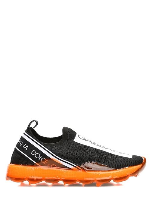 Sorrento Siyah Turuncu Erkek Çocuk Sneaker
