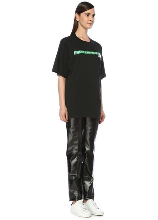 X Mert And Marcus 1994 Siyah Oversize T-shirt
