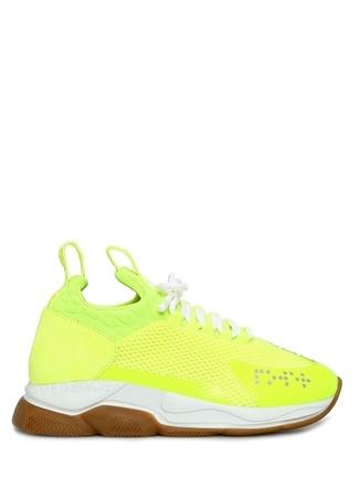 Versace Kadın Cross Chainer Neon Sarı Sneaker 35 EU