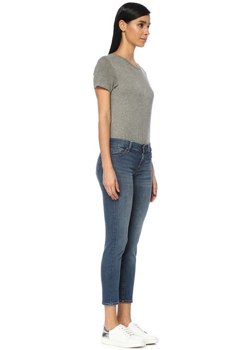 B Air Roxanne Normal Bel Slim Crop JeanPantolon