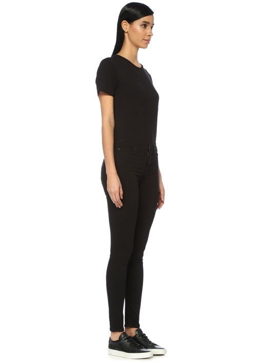Slim Illusion Luxe Siyah Skinny Jean Pantolon