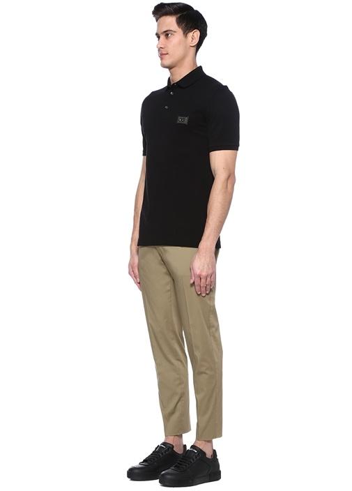 Bej Normal Bel Boru Paça Pantolon