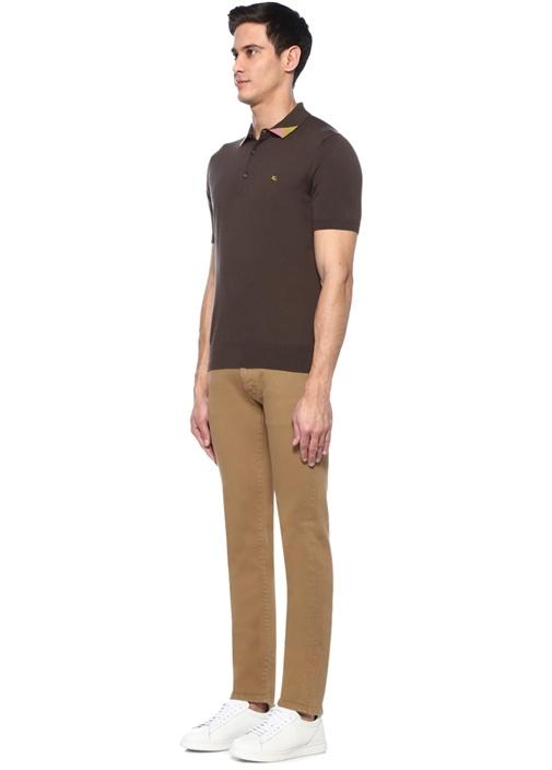Kamel Normal Bel Boru Paça Jean Pantolon