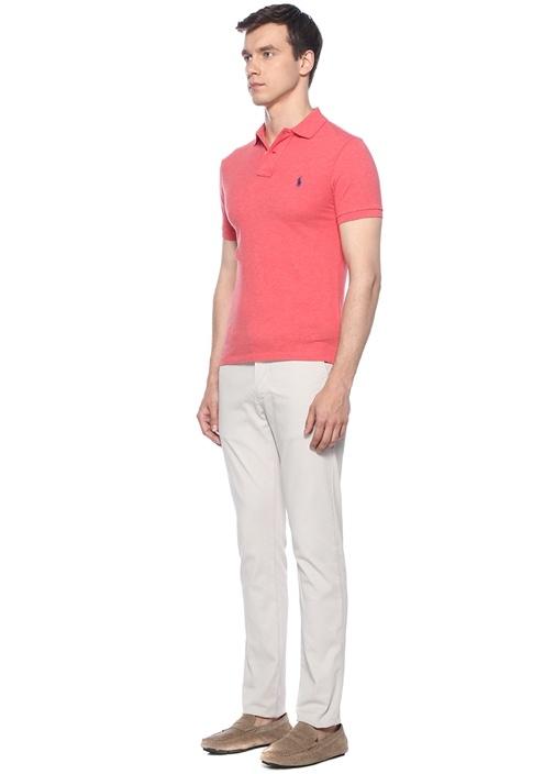 Slim Fit Pembe Polo Yaka T-shirt
