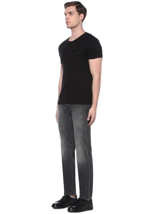Antrasit Normal Bel Jean Pantolon