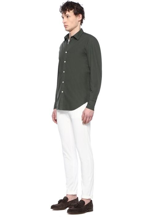 Platinum Haki İngiliz Yaka Gömlek