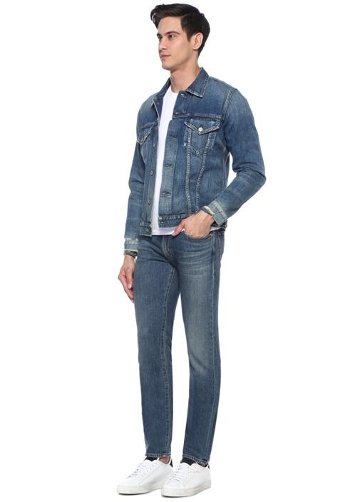 Noah Skinny Fit Lacivert Jean Pantolon