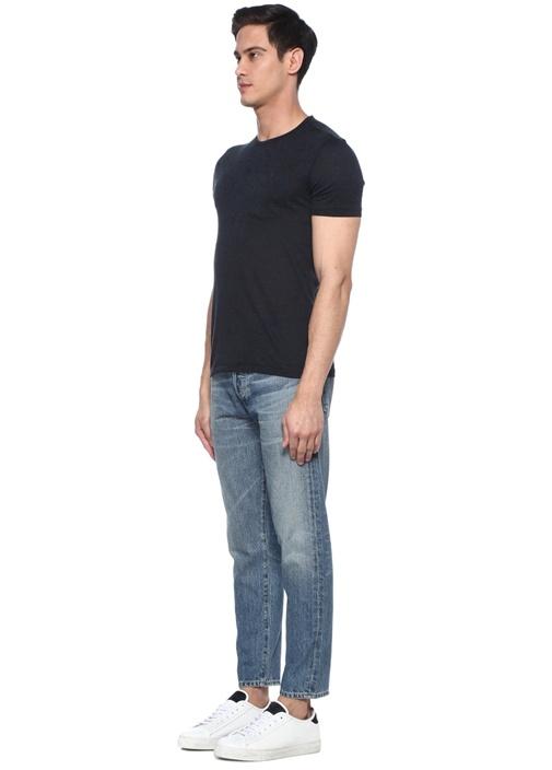 Rowan Relaxed Slim Fit Yıpratmalı Jean Pantolon